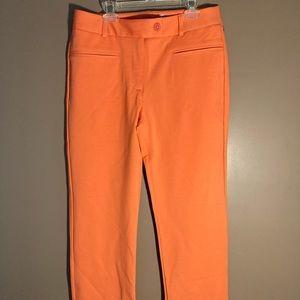 NWOT Betabrand cropped lite dress yoga pants coral